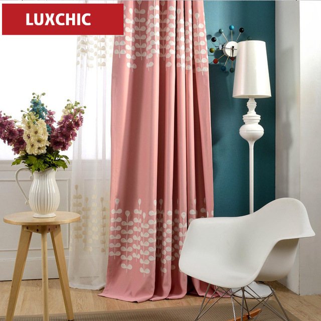 1 pc Luxury Jacquard Colorful Curtains for Living Room Bedroom ...