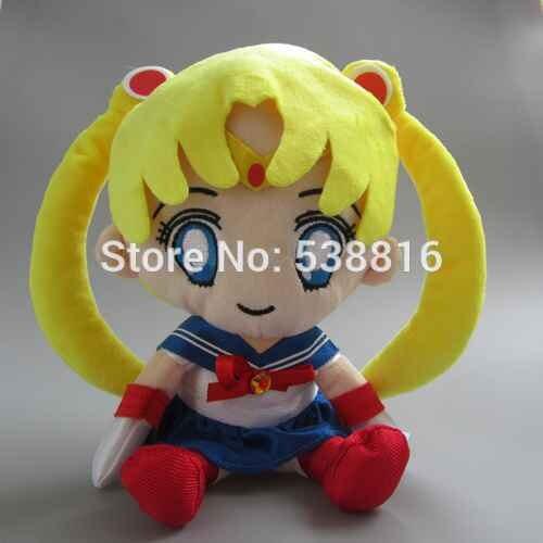 Anime Sailor Moon Usagi Tsukino Volanti Piuttosto Soldier Sailor Moon Peluche Molle Dolls 11