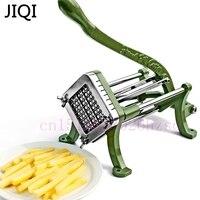 JIQI Potato Chips Making Machine Chips Potato Food French Fry Cutter Manual Kitchen Carrot Cucumber Slice