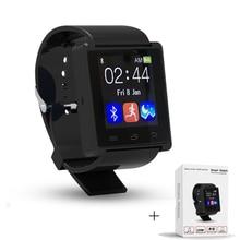Bluetooth Smart Watch Barometer Höhenmesser Trinken Uhr Armbanduhren Wasserdicht Passometer Smartwatch für IOS Android-Handy