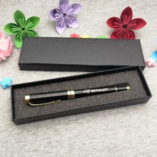 Unique boss gift High quality rollerball pen for custom free with bosss name special logo engraved by laser nice looking