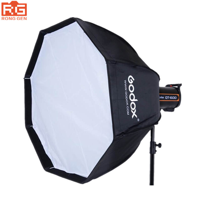 Godox UE-120CM Softbox Professional Portable Octagonal Umbrella Softbox with Bowens Mount for Speedlite Flash