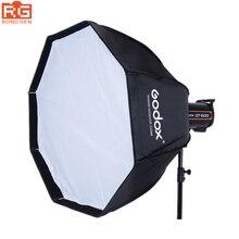 Godox UE 120CM Softbox profesjonalny przenośny ośmiokątny parasol Softbox z mocowaniem Bowens do lampy błyskowej Speedlite