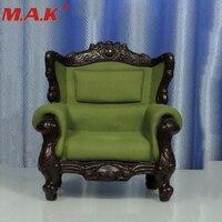 1/6 Escala Poltrona Única Cadeira Do Sofá Sofá Mobiliário para 12 polegadas Figura de Ação