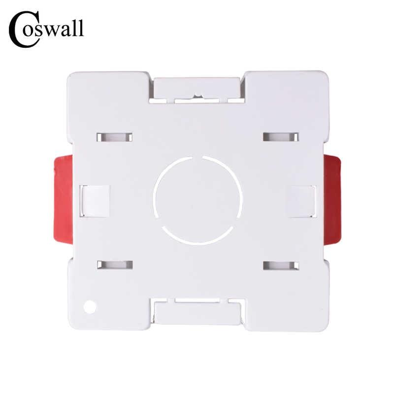 Coswall 1 банда сухая подкладка коробка для гипсокартона гипсокартон 47 мм Глубина настенная коробка переключателей настенная розетка кассеты