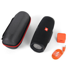 2019 Newest EVA Hard Carrying Travel Cases Bags for JBL Charge 4 Charge4 Waterproof Wireless Bluetooth Speaker Cases (With Belt)