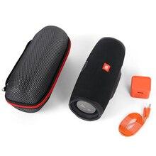 2019 neueste EVA Harte Durchführung Reise Fällen Taschen für JBL Ladung 4 Charge4 Wasserdichte Drahtlose Bluetooth Lautsprecher Fällen (Mit gürtel)