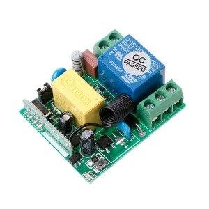 Image 5 - AC 220V 10A 1CH RF 433MHz беспроводной пульт дистанционного управления Модуль приемника + передатчик Комплект для интеллектуального дома