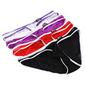 4PCS/Lot New Mesh Transparent Men Brand Underwear Slip Net Yarn Briefs Panties Sexy Sheer Funny Briefs 4 Colors Free Shipping