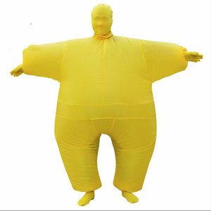 Image 5 - Adult Anime Cosplay Chub Inflatable Costume Blow Up Color Full Body Paty Costume Jumpsuit 9 Colors Halloween Cosplay Costumes