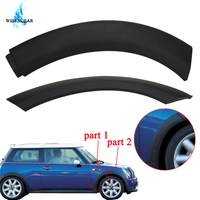 WISENGEAR Front Right Wheel Arch Trim Cover Fender Flare Wheel Soft Decor Trim For BMW MINI One / One D / Cooper S R50 R52 R53 /