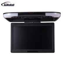 13 Inches Car Monitor LCD Digital Screen Car Roof Mounted Monitor Car Ceiling Monitor Car accessories Black Beige/Gray