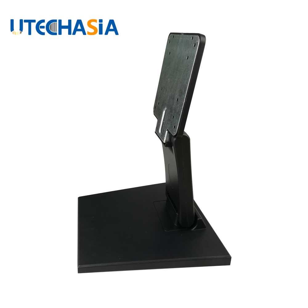 Support de moniteur universel 10-22 pouces socles en métal double écran tactile pliant LCD/LED support de moniteur TV base pliée circulaire