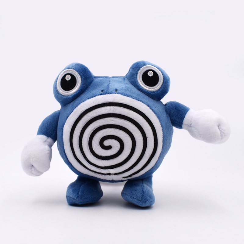 Anime Dolls Poliwrath Plush Dolls Cartoon Poliwhirl Stuffed Toys 7