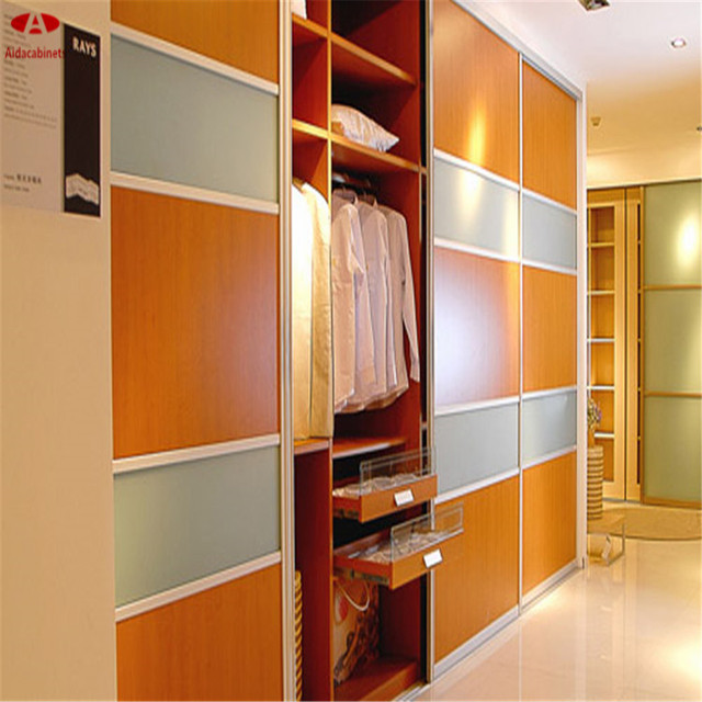 Modern Wood Home Bedroom Furniture Wardrobe/wood Wardrobe For Clothing  Storage