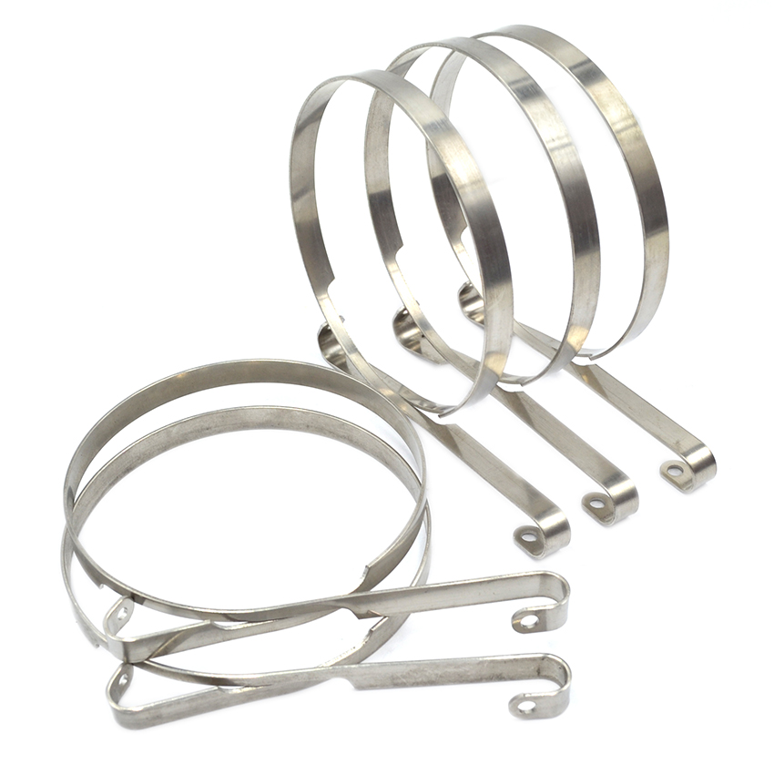 5PCS Chainsaw Brake Band Kit For Husqvarna 61 66 266 268 272 281 288  # 503 70 40 01 chainsaw exhaust muffler with support gasket plate for husqvarna 61 66 162 266 268 272 chainsaws 503476901 503406402