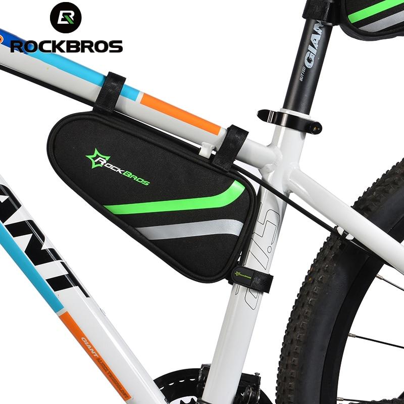 ROCKBROS Fahrradrahmen Tasche Outdoor Radfahren Fahrrad Top-schlauch ...