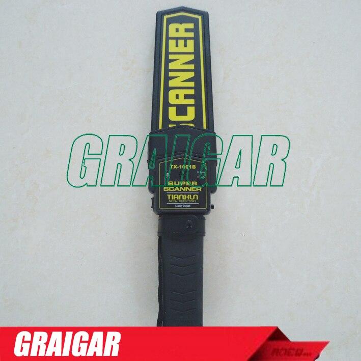 Cheap Hand-held metal detectors TX-1001B Hotsale +Free Shipping  цены