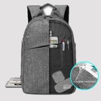 KINGSLONG School Backpack Water repellent Men Backpack 15.6 Inch Laptop Backpack Bag Notebook Mochila Rucksacks for Teens