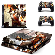 Vinyl Decal Skin Sticker Cover of God of War for Sony PS4 PlayStation 4 and 2 controller skins