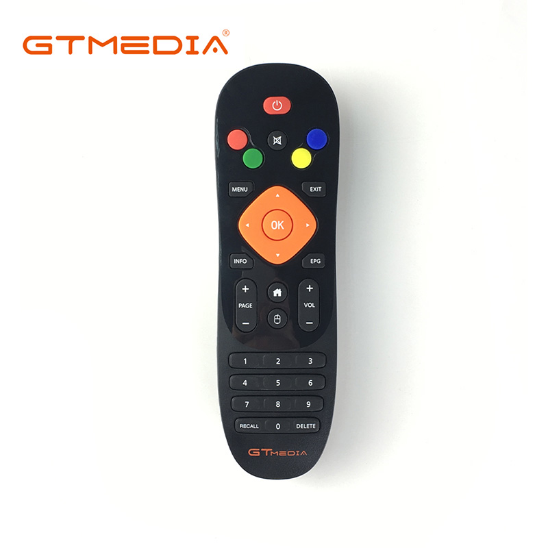 [Genuine] Remote Control For GTmedia GTC <font><b>Android</b></font> <font><b>TV</b></font> <font><b>box</b></font> with <font><b>DVB</b></font>-<font><b>T2</b></font> <font><b>DVB</b></font>-<font><b>S2</b></font> <font><b>DVB</b></font>-C and ISDB-T Amlogic S905D 2GB RAM 16GB ROM combo image