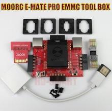 Neue MOORC E-MATE PRO BOX E MATE E-Buchse EMMC WERKZEUG alle in 1 unterstützung BGA-153/169, BGA-162/186, BGA-529, BGA-221 Kostenloser versand