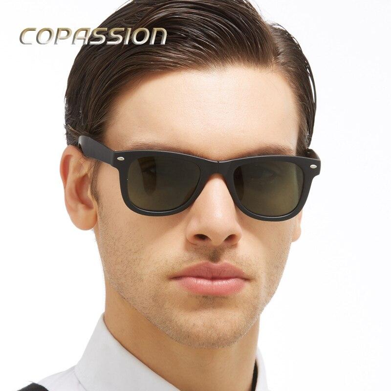 2017 популярные классические поляризационные Защита от солнца очки женские и мужские брендовые дизайнерские складной Защита от солнца стекл...