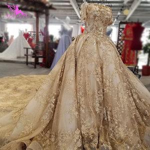 Image 2 - AIJINGYU Trung Quốc Áo Cưới Couture Áo Choàng Trắng Vượt Qua Hoa Kỳ Shop Online 2021 Đồ Bầu Mua Áo Cưới Ở Dubai