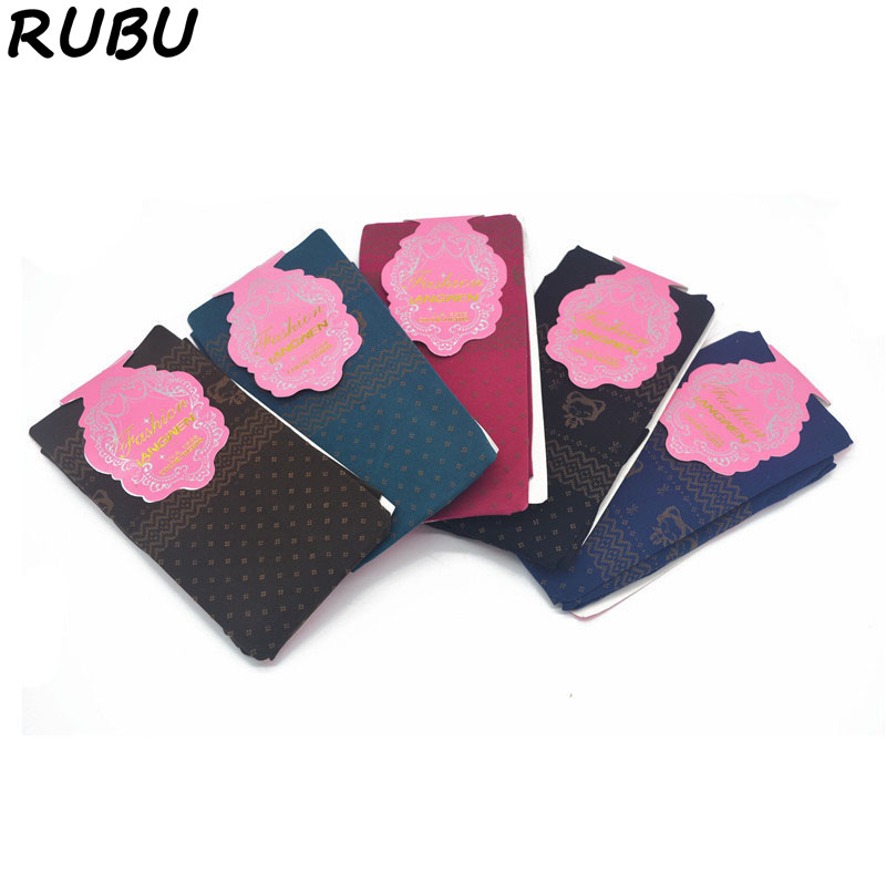 RUBU Lovely Ladies Catoon Pantyhose Fashion Women Super Soft Black Stockings Thin Good Elastic Tights For Charms Girl 5AD164