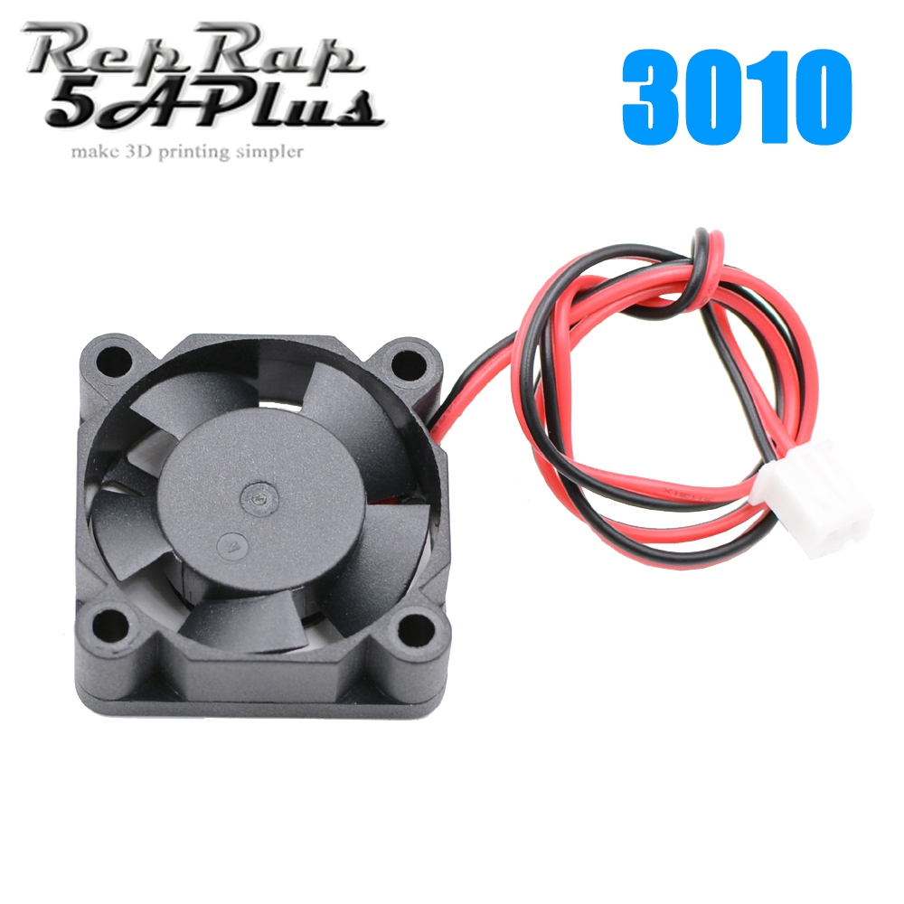 12V/24V Radiator 3010 Fan 30*30*10mm 3010h Brushless DC Small Fan Cooling Extruder 2-Wire 3D Printer Accessories Part maitech dc 12 v 0 1a cooling fan red silver