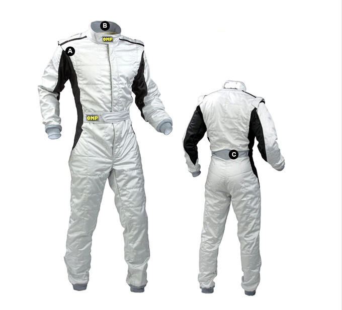 2017 omp new arrivel car racing suit one piece coverall sports clothing polyester fit men and