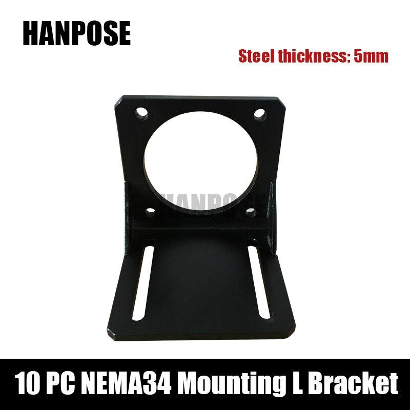 10pcs Nema 34 Stepper Motor mounting bracket for Nema34 motor cnc and 3D printer