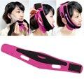 Venda Mulheres Shaper Relaxamento Facial Rosto Emagrecimento Produto de Emagrecimento Bandagem Cinto Massageador Rosto Frete Grátis Rosa