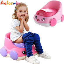 0-9 Years New Car Portable Baby Pot Backrest Children's Potty For Newborns Kids Urinal Toilet Potty Training Seat For Nursery