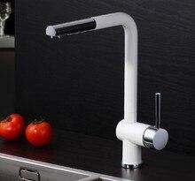 Бесплатная Доставка pull out кран chrome поворотный раковина смеситель кухонный кран тщеславия кран cozinha KF523