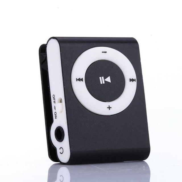 נייד MP3 נגן מיני קליפ MP3 נגן עמיד למים ספורט Mp3 מוסיקה נגן ווקמן Lettore Mp3 עם TF חריץ שקע נחמד צליל מתנה