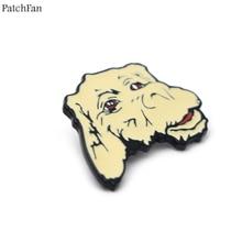 20 шт./лот Patchfan neverending история Falcor удачи дракон цинк шпильки para рюкзак одежда значки мешочек для брошек рубашка A0803