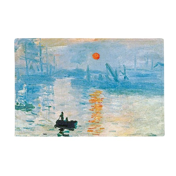 Sunrise Claude Monet Oil Painting Anti-slip Floor Mat Carpet Bathroom Living Room Kitchen Door 16x30Gift