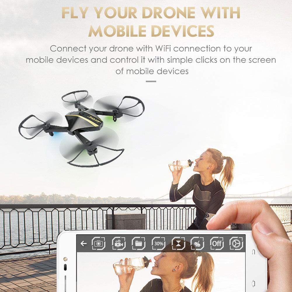 Радиоуправляемый Дрон складной селфи Дрон Wi-Fi 720 P вертолет высота Удержание RC Quadcopter самолет profissional Mini Дроны с Камера HD