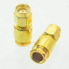 1pce Conector SMA plugue macho braçadeira pino para RG58 RG142 LMR195 RG400 RF COAXIAL
