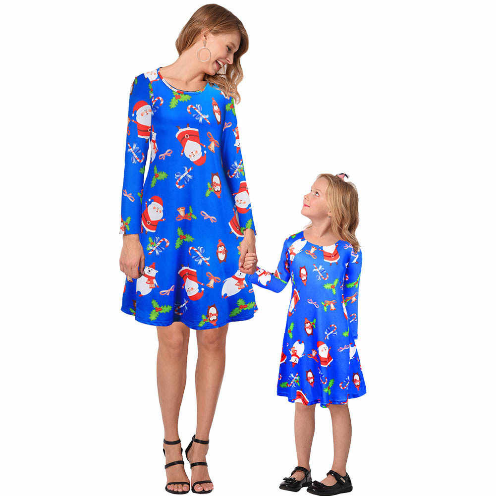 Family Christmas Pajamas Blue.Mommy And Me Clothes Matching Outfits Family Christmas