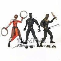 Marvel Legends 2018 Movie Black Panther NAKIA Dora Milaje TChaka 6 Action Figure From OKOYE M Baku BAF Wave 2 Doll Toy Model