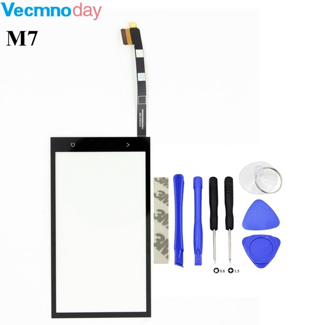 Vecmnoday 4.7'' Touch Panel Touchscreen For HTC One M7 Touch Screen Digitizer Front Glass Sensor replacement parts