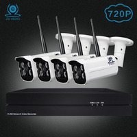 ZSVIDEO Surveillance System Security Camera Outdoor Wireless Security Cameras Home Record 720P NVR Kits Motion Camera