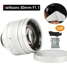 7artisans 50mm F1.1 M Mount Fixed Lens for Leica M-Mount Cameras M-M M240 M3 M6 M7 M8 M9 M10