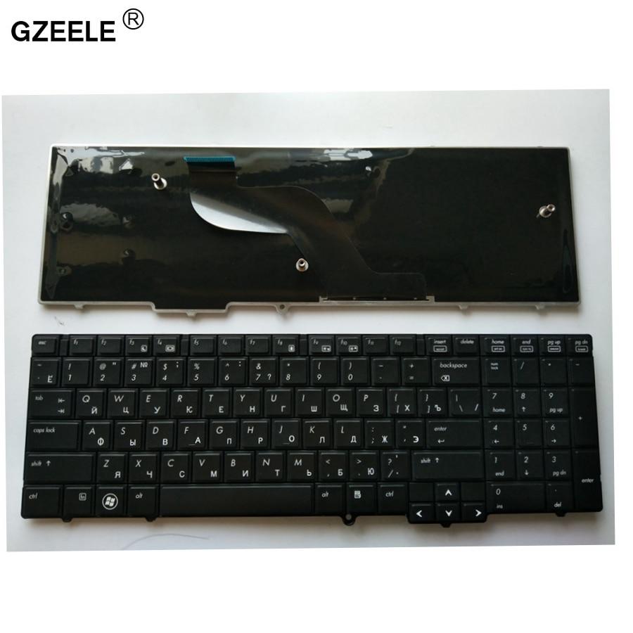 GZEELE Russian Laptop Keyboard FOR  HP Compaq Probook 6540B 6545B 6550B 6555B 6540 6545 609877-251 613386-251 RU Layout KEYBOARD