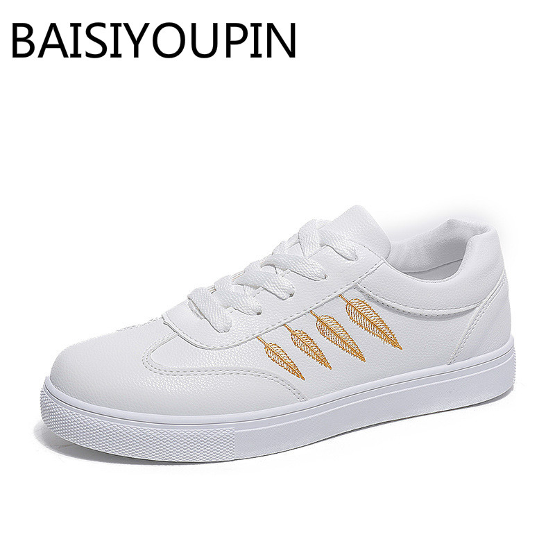 2018 Spring New Womens Shoes Fashion Small White Shoes Korean Version of Leisure Shoes Students Sports Shoes Ladies Causal Shoe
