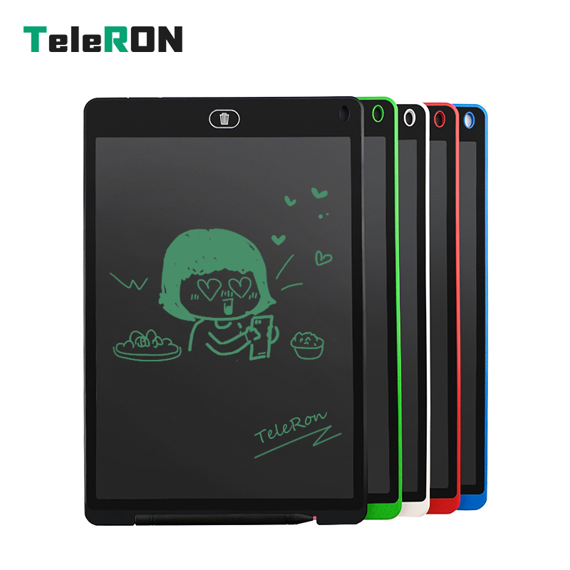 12 Inch LCD Writing Tablet Digital Drawing Tablet Handwriting Pads Portable Electronic Tablet Board ultra-thin Board Kids Gift 8 5 inch lcd writing tablet electronic small blackboard with pen portable mini writing drawing tablet board built in battery