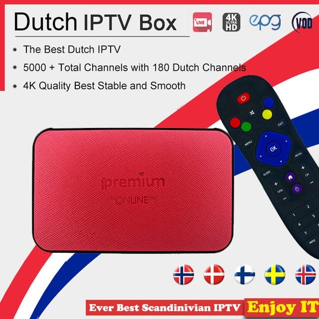 US $28 35 19% OFF|AVOV TVonline Smart TV Box with Pro IPTV 5000 4K Europe  Nordic France Sweden German Portugal Italy Dutch UK Live TV Viasat Cmor -in