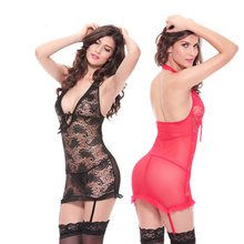 2016 Sexy Underwear Baby Doll Sexy Lingerie Women Intimo Donna Sexy Hot Camisolas Sensuais Sexy Pajamas Lingerie for Sex